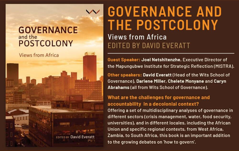 Governance and the Postcolony – Views from Africa