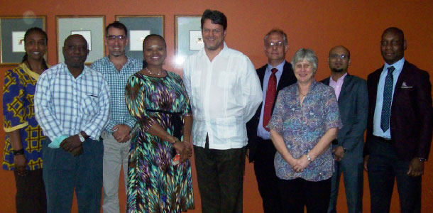 SACPLAN Council Members Meet With Deputy Minister Andries Nel